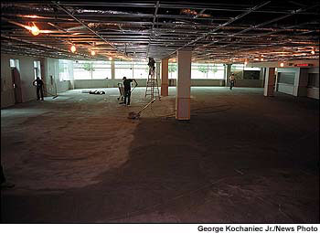 Remodeling Columbine High School cafeteria