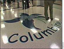 Columbine High entryway floor