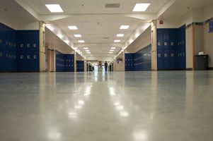 Columbine High School new hallway